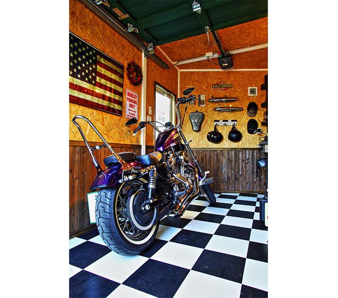 【新型コロナに負けるな!ガレージライフ】「ガレージライフ・アメリカン誌」を熟読し、夢に描いたバイクガレージをついに実現の画像01