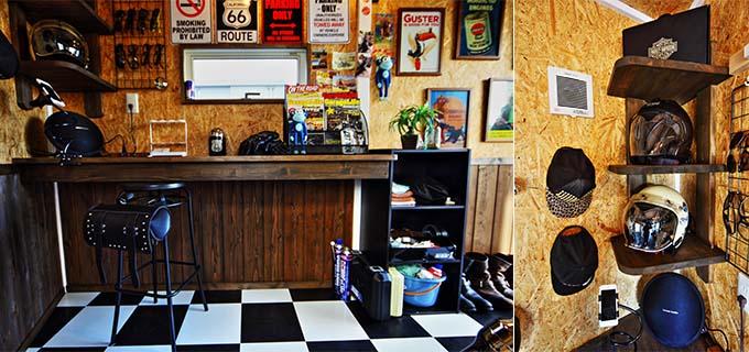 【新型コロナに負けるな!ガレージライフ】「ガレージライフ・アメリカン誌」を熟読し、夢に描いたバイクガレージをついに実現の画像06