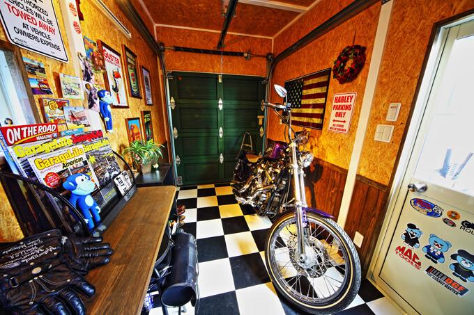 【新型コロナに負けるな!ガレージライフ】「ガレージライフ・アメリカン誌」を熟読し、夢に描いたバイクガレージをついに実現のメイン画像