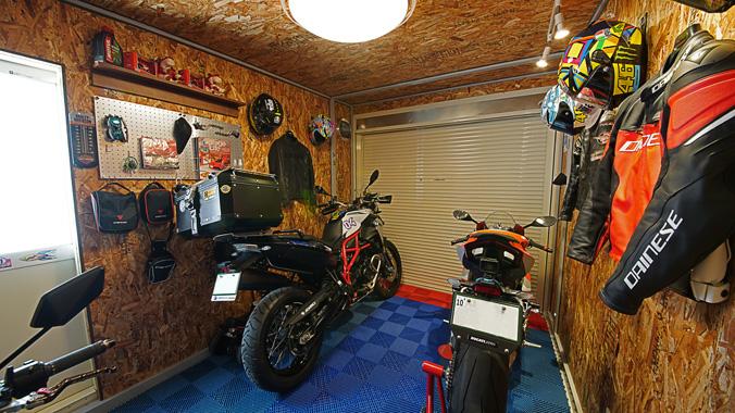【新型コロナに負けるな!ガレージライフ】バイクライフを満喫するために選んだ場所に、バイクライフを充実させるために選んだガレージの画像02