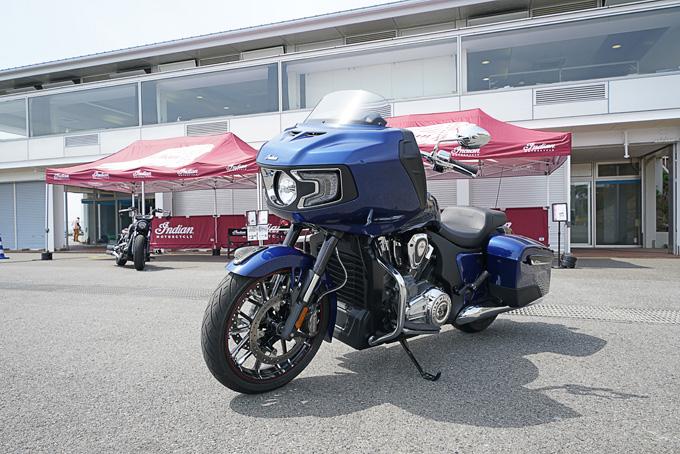 インディアンFTR1200ラリーのプチインプレあり!第6回JAIA輸入二輪車試乗会・展示会 インディアンレポートの画像02