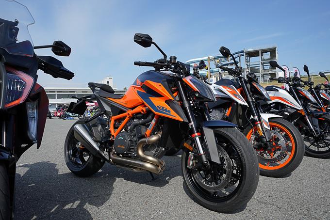第6回JAIA輸入二輪車試乗会・展示会 KTM・ハスクバーナ・モーターサイクルズレポートの画像02