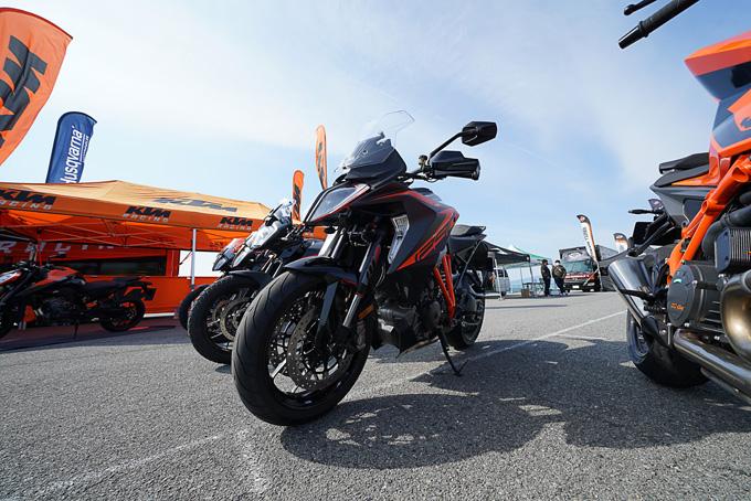 第6回JAIA輸入二輪車試乗会・展示会 KTM・ハスクバーナ・モーターサイクルズレポートの画像03