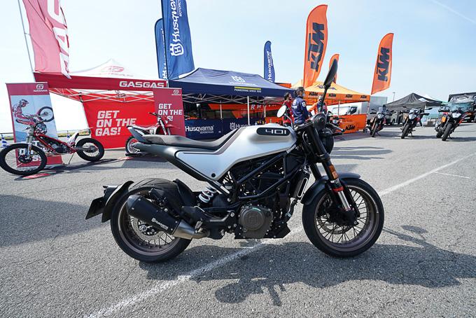 第6回JAIA輸入二輪車試乗会・展示会 KTM・ハスクバーナ・モーターサイクルズレポートの画像10