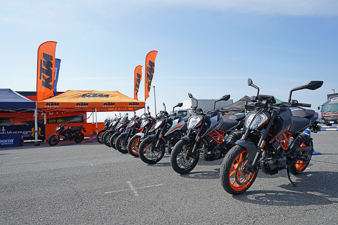 第6回JAIA輸入二輪車試乗会・展示会 KTM・ハスクバーナ・モーターサイクルズレポートのメイン画像