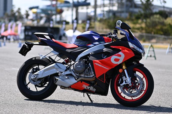話題のaprilia RS660も試乗!第6回JAIA輸入二輪車試乗会・展示会 aprilia・MOTO GUZZI・Vespa レポートの画像02