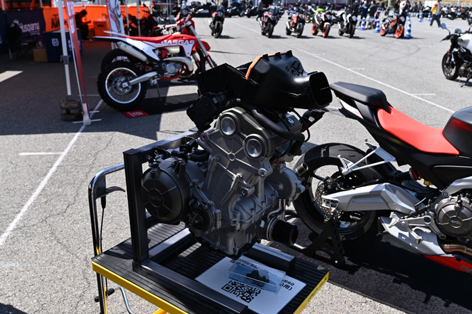 話題のaprilia RS660も試乗!第6回JAIA輸入二輪車試乗会・展示会 aprilia・MOTO GUZZI・Vespa レポートの画像03