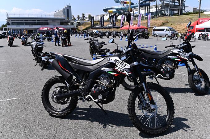 話題のaprilia RS660も試乗!第6回JAIA輸入二輪車試乗会・展示会 aprilia・MOTO GUZZI・Vespa レポートの画像05