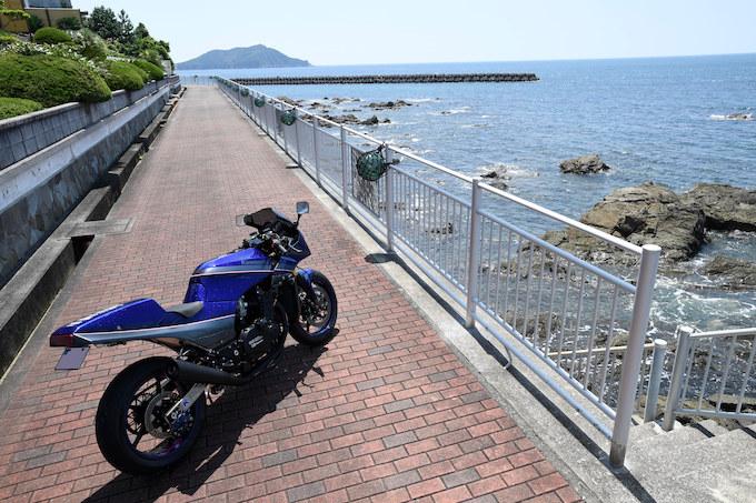 CUSTOM BIKE TOURING/しゃぼん玉が造った2台のGPZ900Rで真夏の伊勢志摩・東紀州を満喫!  前編の画像