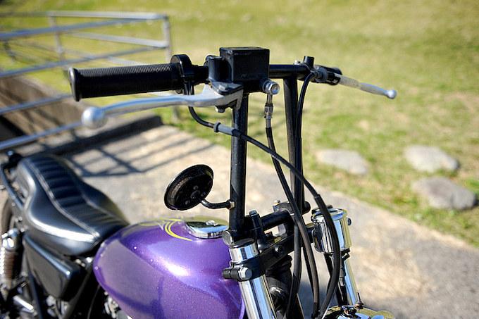 フリスコハンドルはSMOKYオリジナルのものを使用。