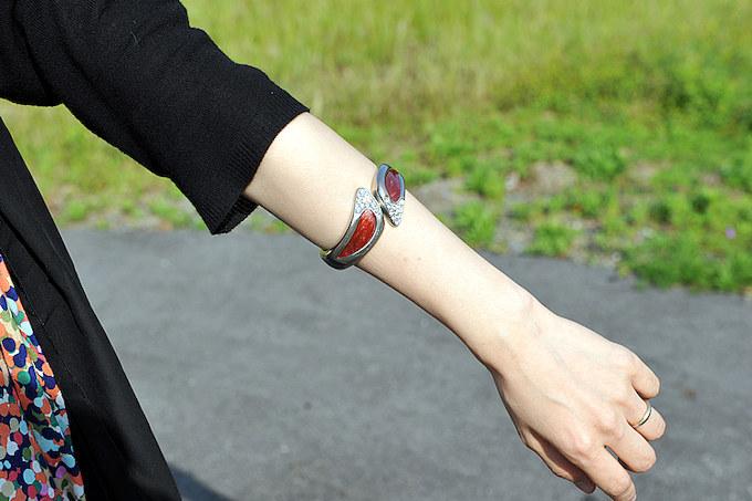 ブレスは手首に付けるものを写真の位置で付けるのがセイコスタイル。