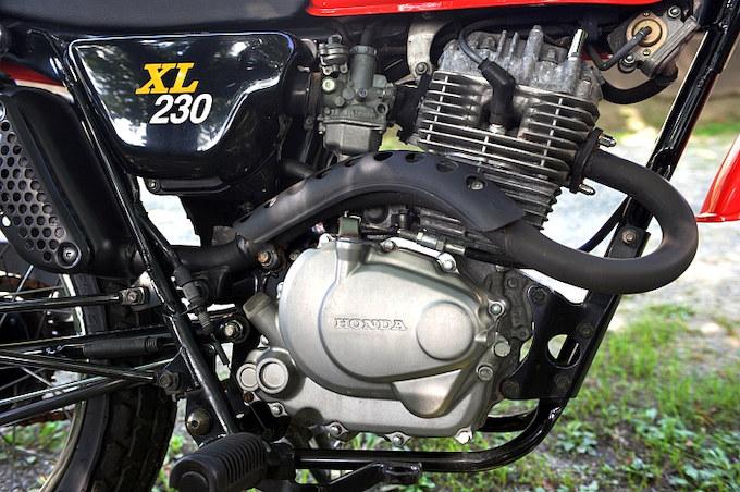 シティユースなら申し分ない230ccエンジン。