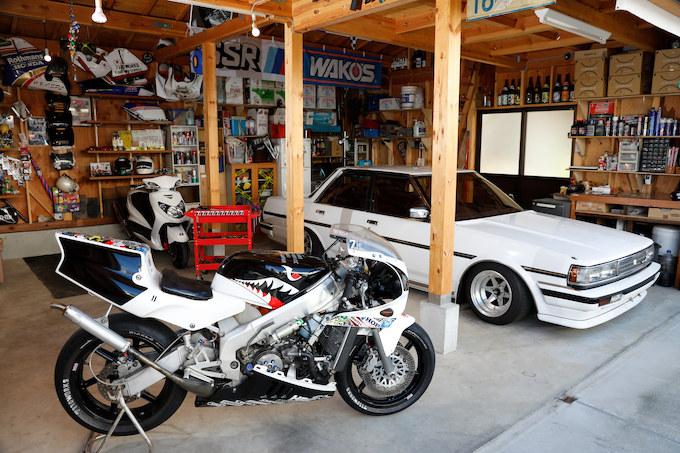 【愛車と棲まう絶版車ガレージ】内藤智和さん(7110WORKS)&ホンダ NSR250Rの画像