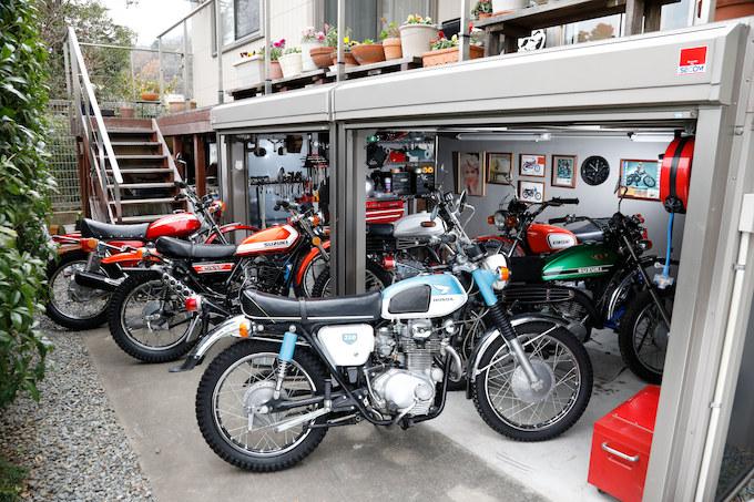 【愛車と棲まう絶版車ガレージ】Mさん&ホンダ CB750K0/カワサキ Z1/スズキ GT750/ヤマハ XS1等の画像