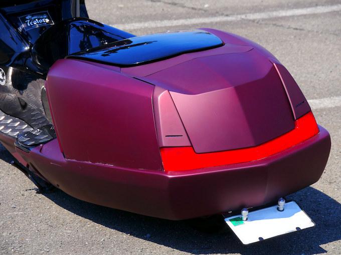 車高も見た目も極限まで低く!これがマグザムのロースタイル!のカスタム画像