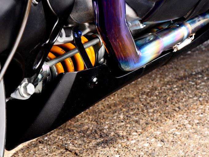 走りを楽しむTMAXならではのチューニングスタイルのカスタム画像