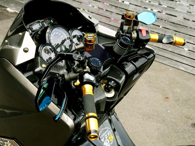 530ルックを手に入れた3型TMAXのカスタム画像