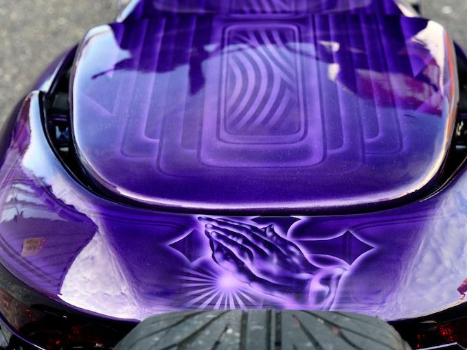 ソウルペイントが美しいロー&ロングマジェCのカスタム画像
