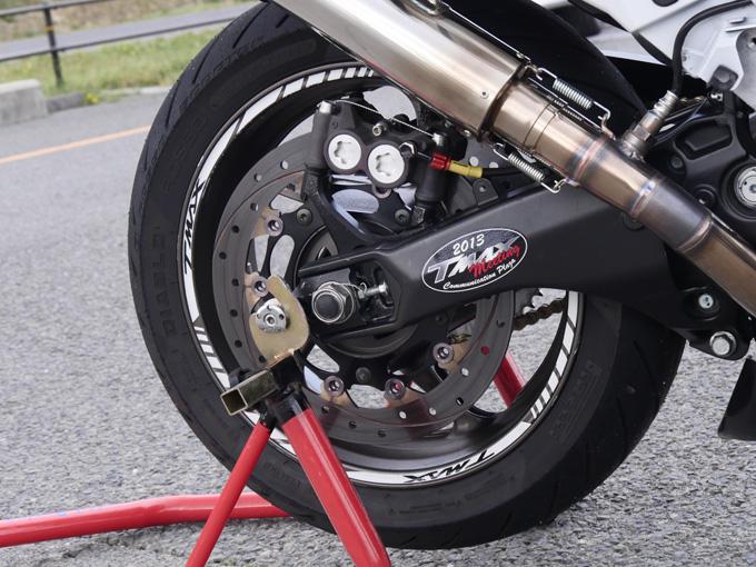 TMAXにはレースをオマージュしたデザインが似合うのカスタム画像