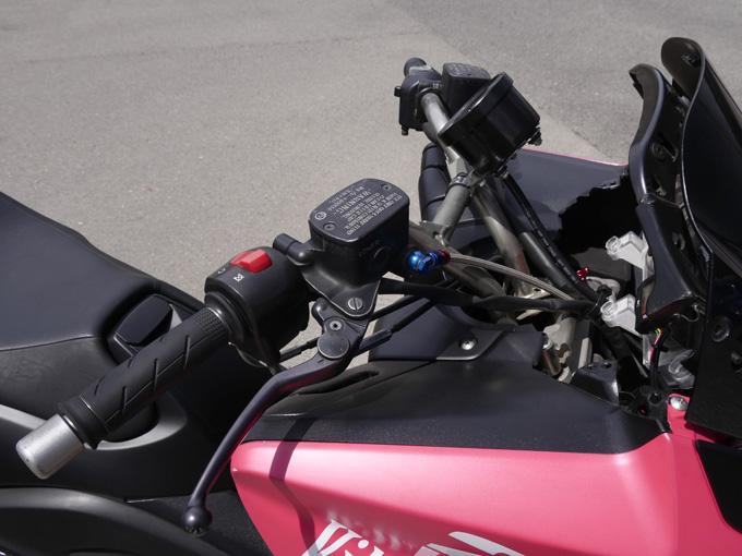 吸排気と駆動系のライトチューンで、目指すは打倒530!のカスタム画像