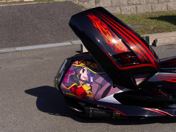 スーパーカーをオマージュして、マグザムにガルウイングを武装のカスタム画像
