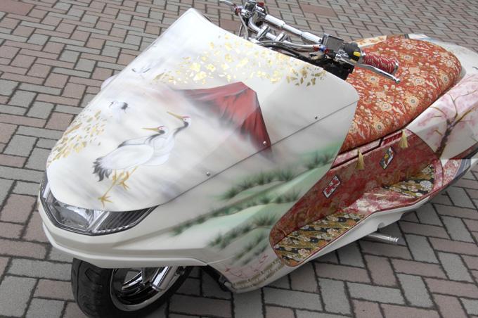 【カスタムアーカイブ】ペイントで表現された和風マグザムのカスタム01画像