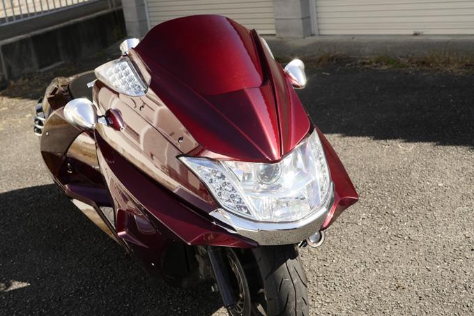 ビッグスクーターカスタムのエントリーユーザーに見ていただきたいスタンダードなライトカスタムマグザムのカスタム画像