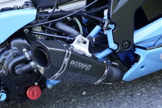 欧州スクーター、デルビのGP1をベースにした意欲作のカスタム04画像