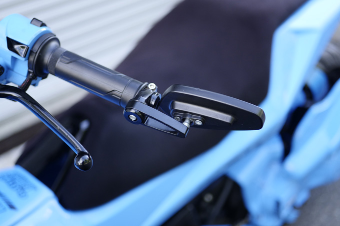 欧州スクーター、デルビのGP1をベースにした意欲作のカスタム06画像