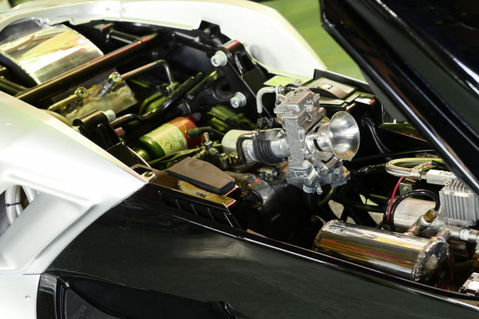 細部に渡りこだわりが凝縮されたビッグスクーターカスタム!速さを楽しむためのマグザムスタイルのカスタム03画像