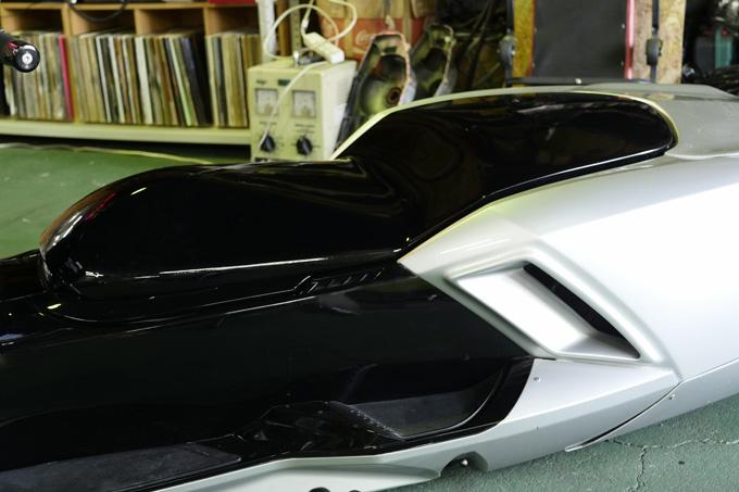 細部に渡りこだわりが凝縮されたビッグスクーターカスタム!速さを楽しむためのマグザムスタイルのカスタム05画像