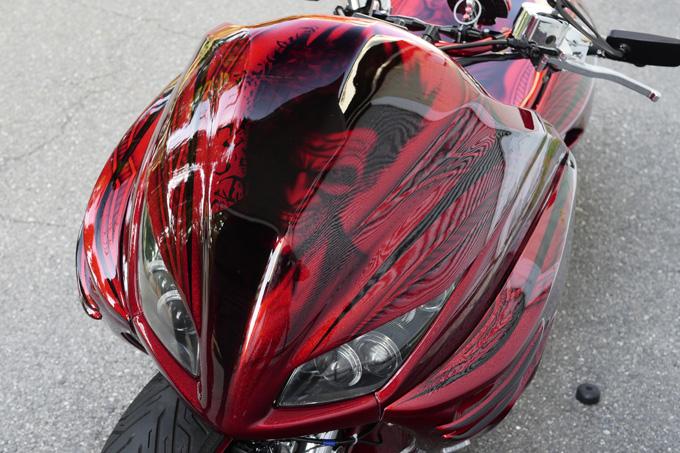 グランドマジェスティエンジンの4輪4D9マジェスティカスタムのカスタム04画像