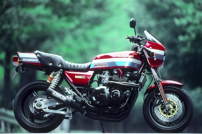 CLASS FOUR ENGINEERING / Z1000R カスタム写真