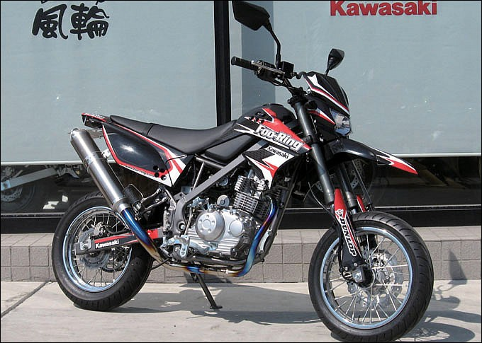 カワサキ Dトラッカー125