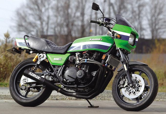 ブラビッシモ Z1000R(カワサキ Z1000R)のカスタム画像
