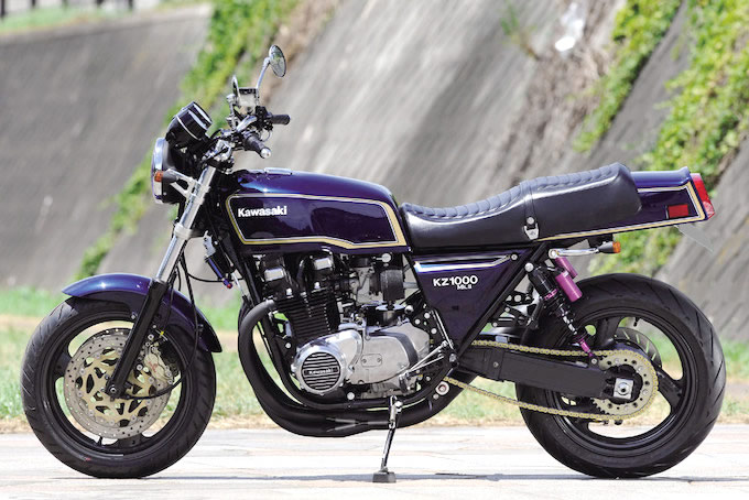 ジャム Z1000Mk.II(カワサキ Z1000Mk.II)のカスタム画像