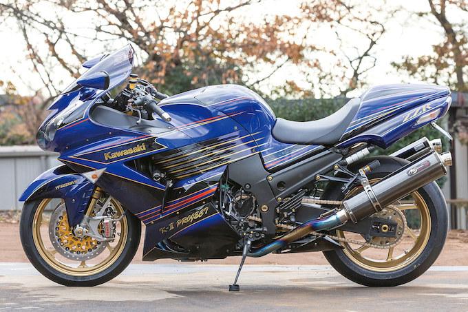 K-2プロジェクト ZZR1400(カワサキ ZZR1400)のカスタム画像