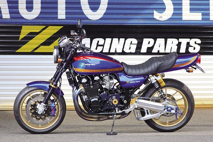 Zレーシングパーツ ゼファー750(カワサキ ゼファー750)のカスタム画像