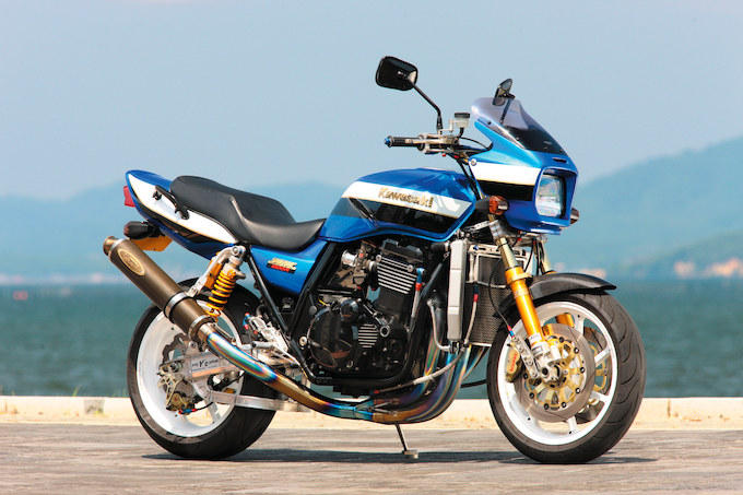 バイクガレージY's ZRX1200R(カワサキ ZRX1200R)のカスタム画像