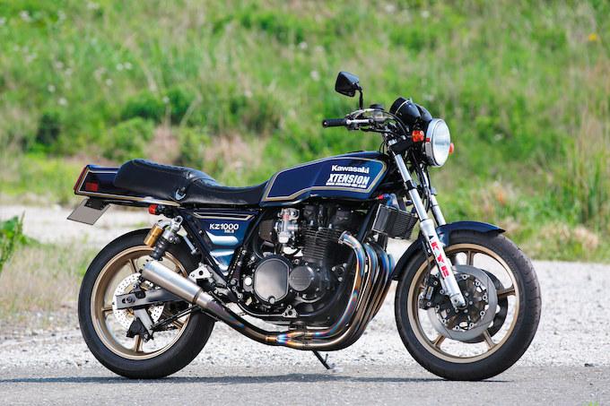エクステンション Z1000Mk.II(カワサキ Z1000Mk.II)のカスタム画像
