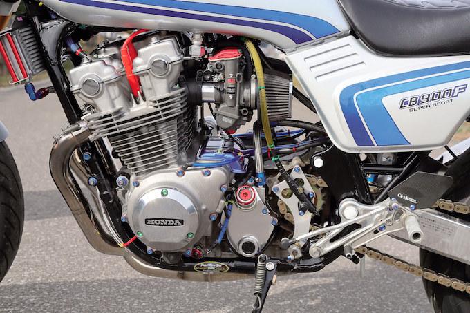 市本ホンダ CB900F(ホンダ CB900F)のカスタム画像