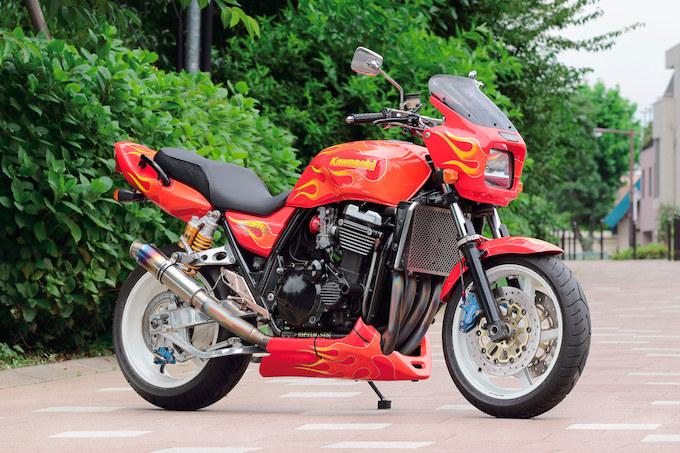 RED MOTOR ZRX1100(カワサキ ZRX1100)のカスタム画像