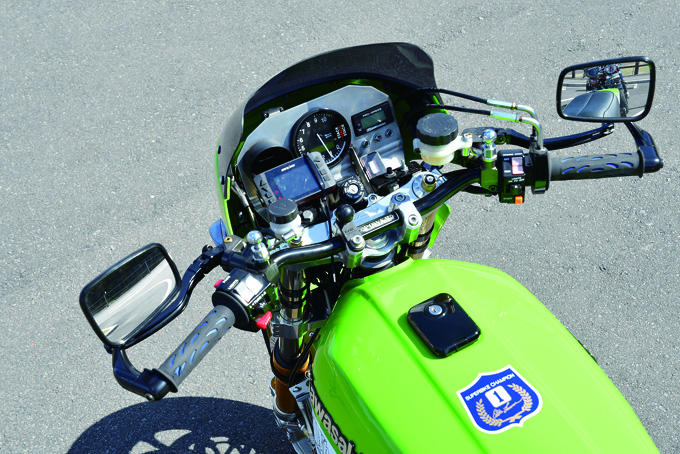 OKADA MOTORS Z1100R(カワサキ Z1100R)のカスタム画像