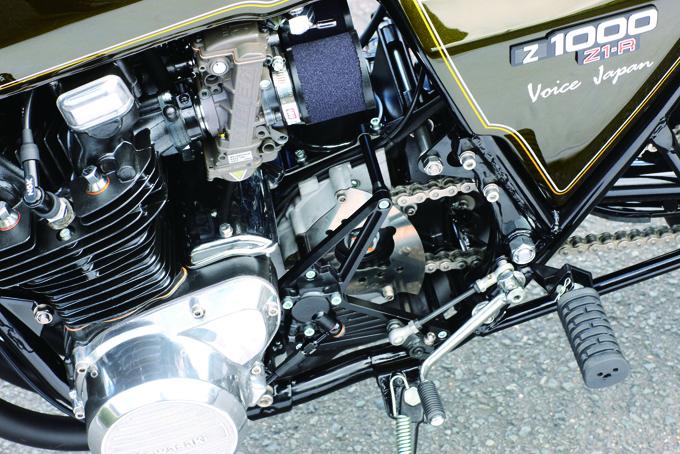 VOICE JAPAN Z1R-II(カワサキ Z1R-II)のカスタム画像