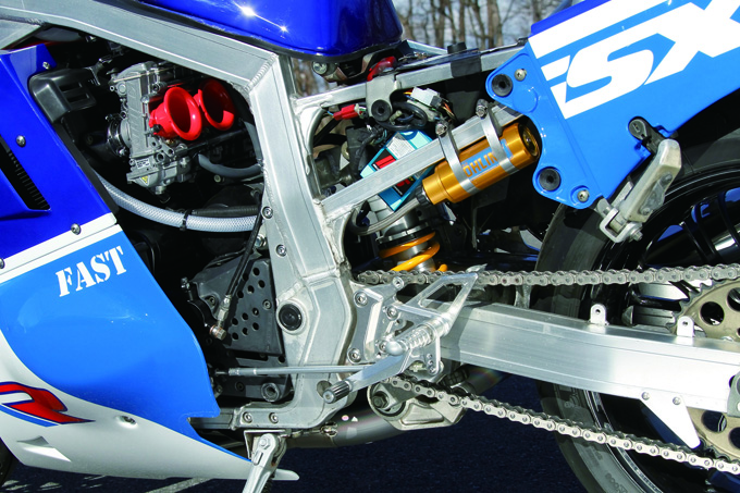 FAST GSX-R1100(スズキ GSX-R1100)のカスタム画像