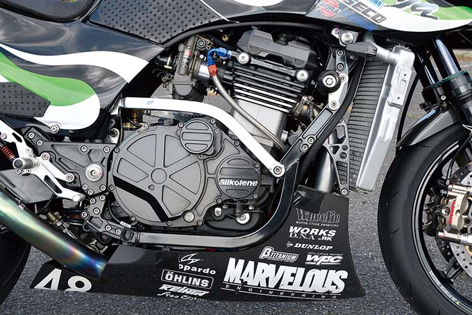 MARVELOUS ENGINEERING GPZ900R(カワサキ GPZ900R)カスタム画像05