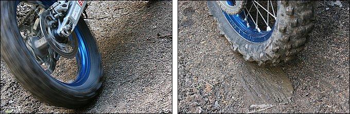 凍土はタイヤが刺さらない