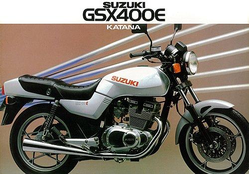 スズキ GSX400E KATANA/250E KATANA(1982) 絶版ミドルバイク|モト・ライド-バイクブロス