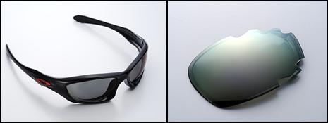 「度付きサングラス」の製作も可能