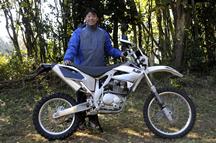 関 那治さん(45歳)PR-3 125ファン/スモール
